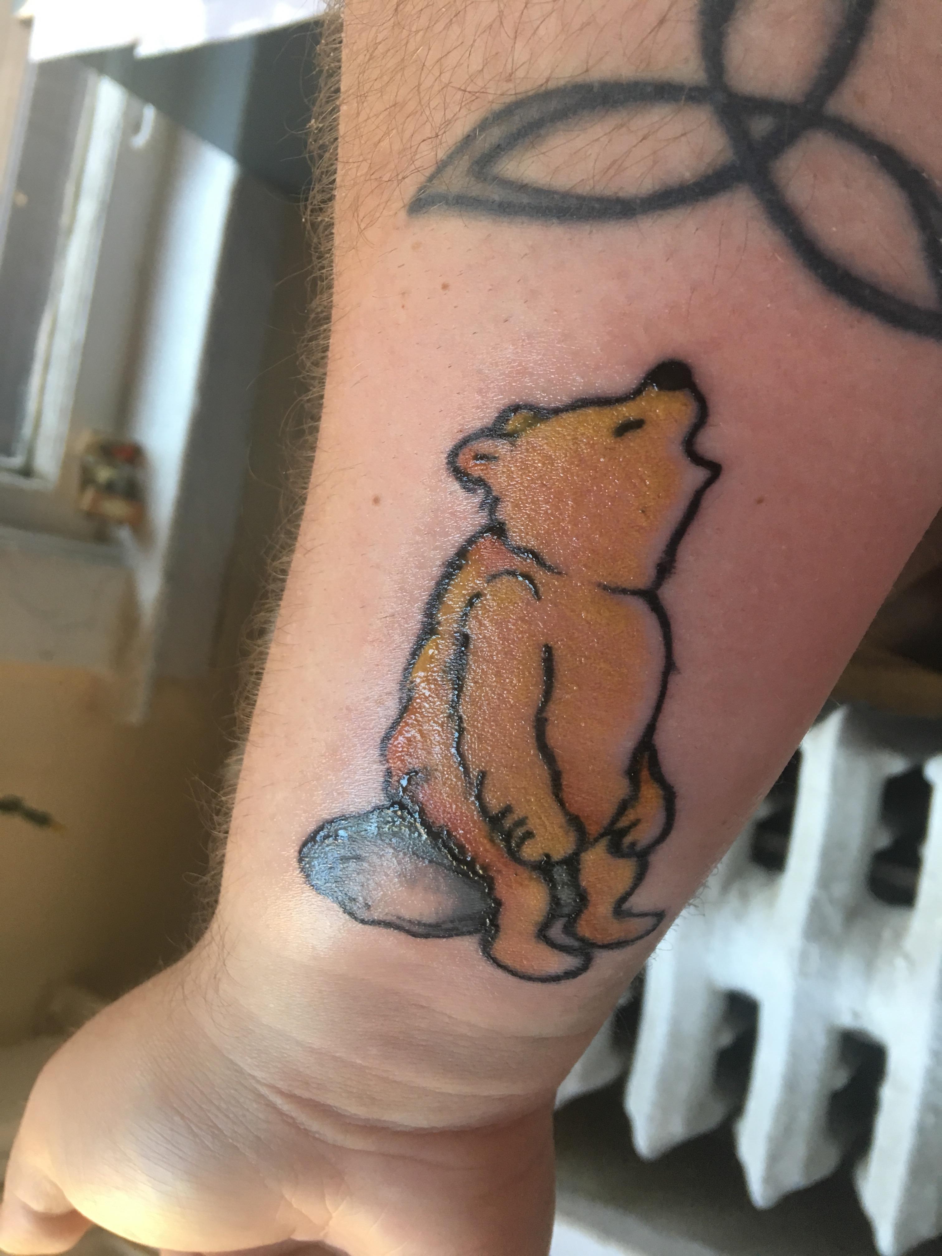 """Winnie-the-Pooh singing """"Cottleston Pie"""""""